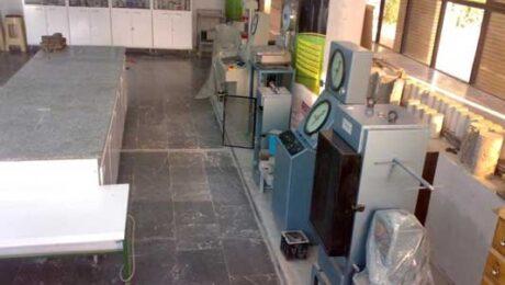 آزمایشگاه بتن دانشگاه صنعتی امیرکبیر